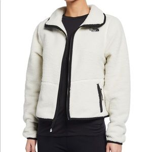 the north face cropped sherpa